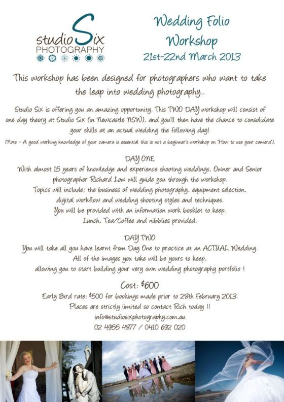 WeddingFolioWorkshopFlyer